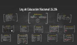 Copy of Ley de Educación Nacional 26.206