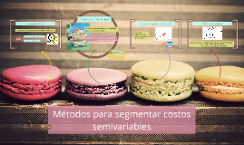 Métodos para segmentar costos semivariables