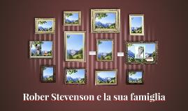 Rober Stevenson e la sua famiglia