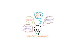 Keyword Presentation--Inquiry Paradigms