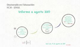 Copia de INFORME 2016 Doctorado en Educación