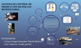 SISTEMA DE CONTROL DE PRODUCCION DE POLLOS BENEFICIADOS