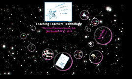 Teaching Teachers Technology: The School Librarian's Starring Role