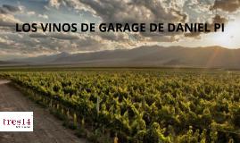 LOS VINOS DE GARAGE DE DANIEL PI