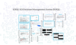 ICS Database Management System (ICSDBMS)