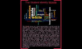 Student Identity Wordle