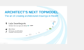 Architect's Next Topmodel - RTCEUR 2016
