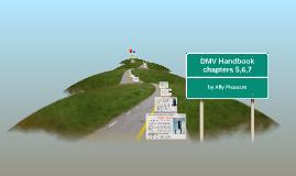 Copy of DMV Handbook