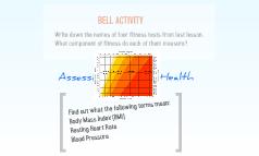 Assessing Fitness & Health