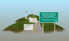 Estudio de Asignación y Pronóstico Autopista Morelia - Salam