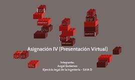 Asignacion IV - Presentación Virtual