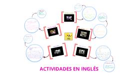 Actividades en inglés. Grupo 2