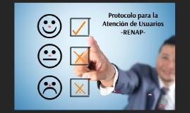 Protocolo para  la Atención de Usuarios