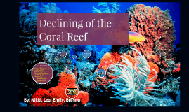 Coral Reef Declining