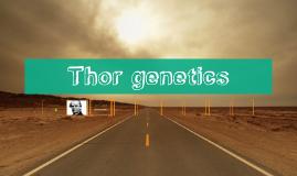 Thors genetics