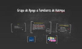 Copy of Grupo de Apoyo a Familiares de Adempa