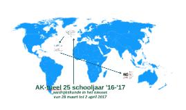 Ak-tueel 25 schooljaar 16-17