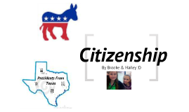 Citizenship.