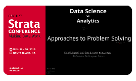 Data Science vs. Analytics: Approaches to Problem Solving