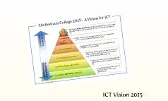 ICT Vision 2015