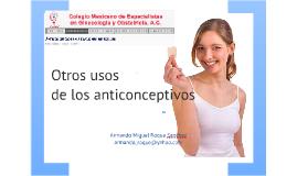 Otros usos de los anticonceptivos