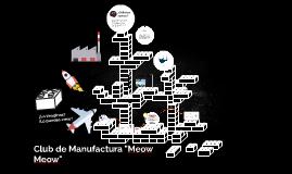 """Club de manufactura """"meow meow"""""""