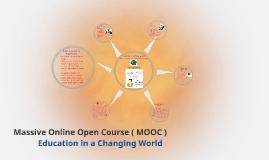 Massive Online Open Course (MOOC) EdCW.