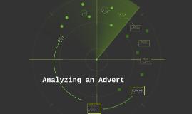 Analyzing an Advert