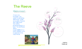 Copy of The Reeve - Canterbury Tales