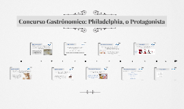 Concurso Gastrônomico: Philadelphia, o Protagonista