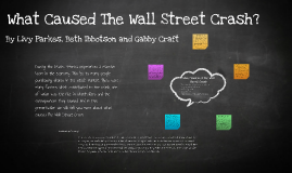 Copy of What Caused The Wall Street Crash?