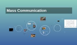 F16 Mass Communication - August 31 2016