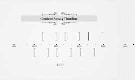 Content Area 4 Timeline