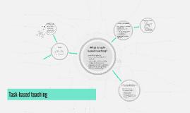Task-based teaching
