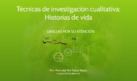 Copy of Copy of Mexico Historias de Vida en la Investigación Cualitativa