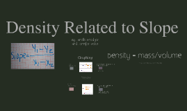 Q1 Density Related to Slope