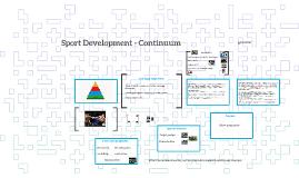 Sport Development  1
