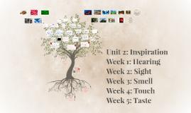 Unit 2: Inspiration