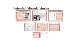 Potential MicroHistories