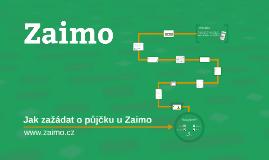 Jak zažádat o půjčku u Zaimo.cz