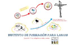 Copy of Lección 1 Escuela de pastoral