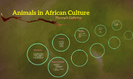 Animals in African Culture