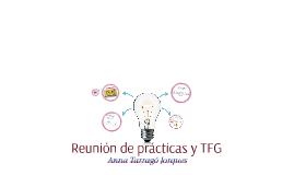 Reunión de prácticas y TFG