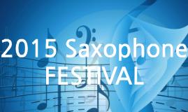 2015 Saxophone