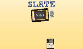 Copy of SLATE 2014