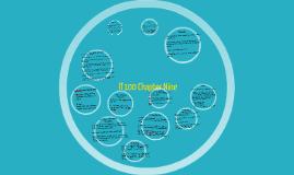 IT100 Chapter Nine