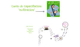 """Curso de """"Motivación"""""""