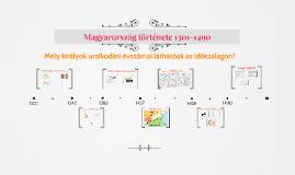 Magyarország 1301-1490