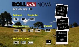 Rolltalk Nova norsk