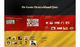 De Grote Duitsland Quiz
